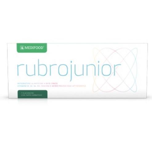 RUBROJUNIOR® 7 flaconcini con tappo serbatoio