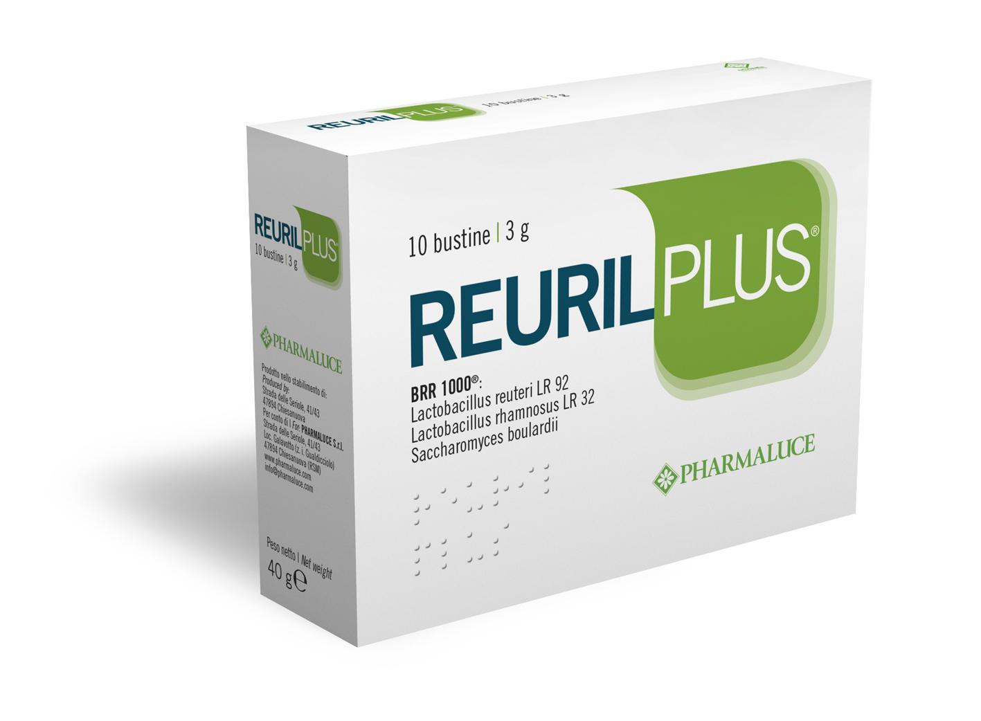 REURIL PLUS 10 bustine