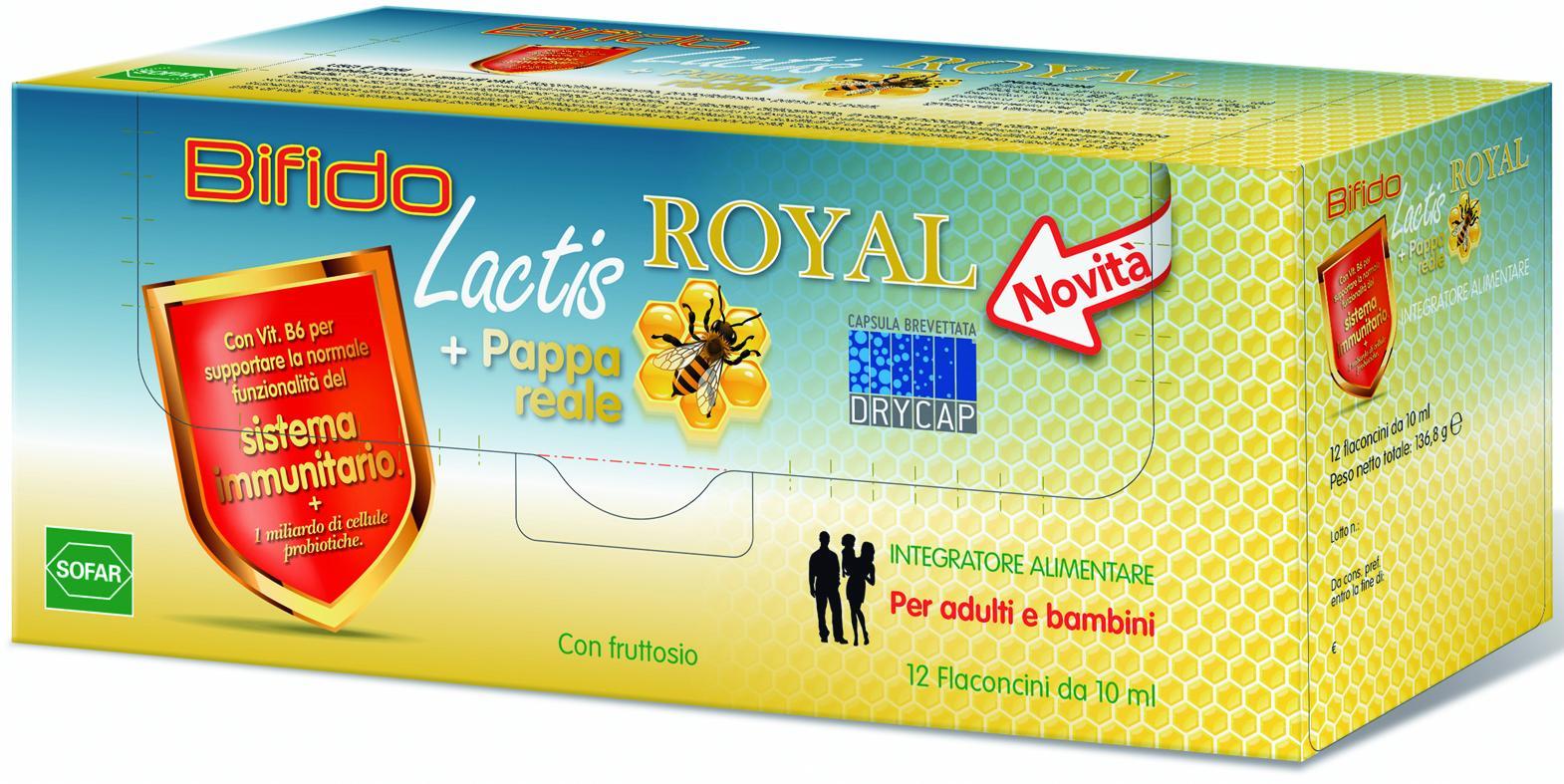 BIFIDOLACTIS ROYAL – 12 flaconcini da 10 ml