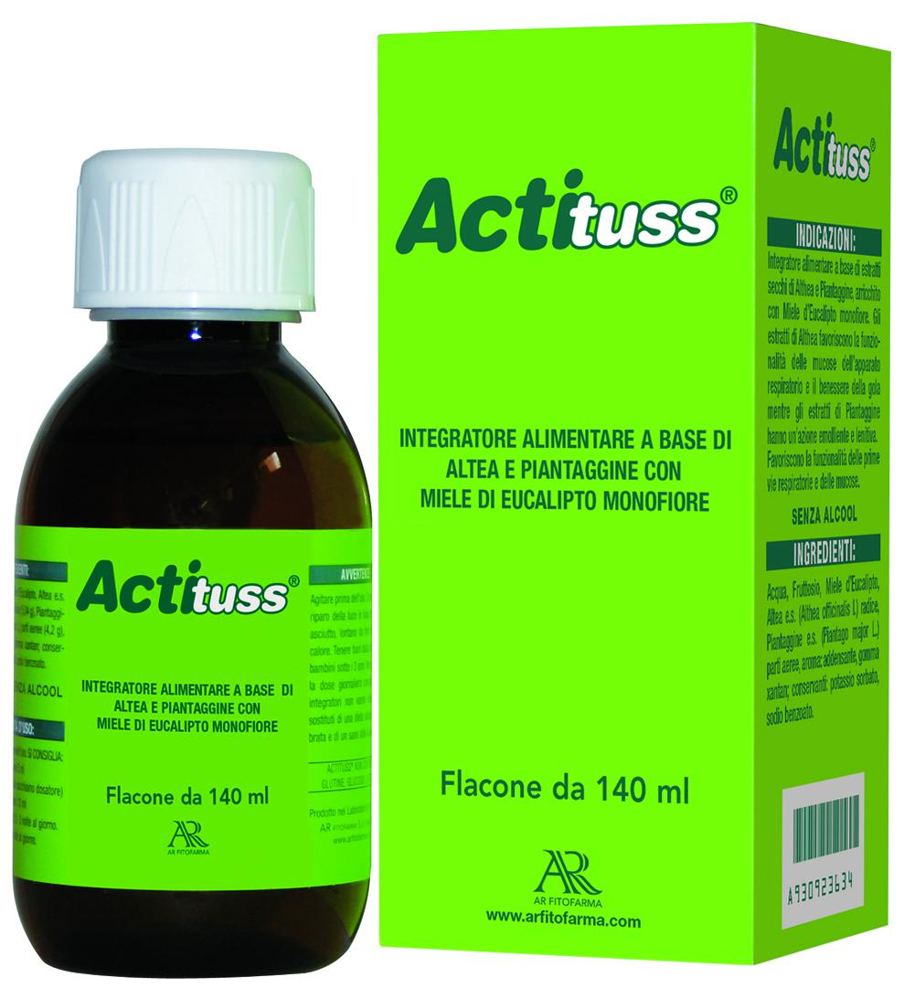 ACTITUSS. SCIROPPO 140 ml.