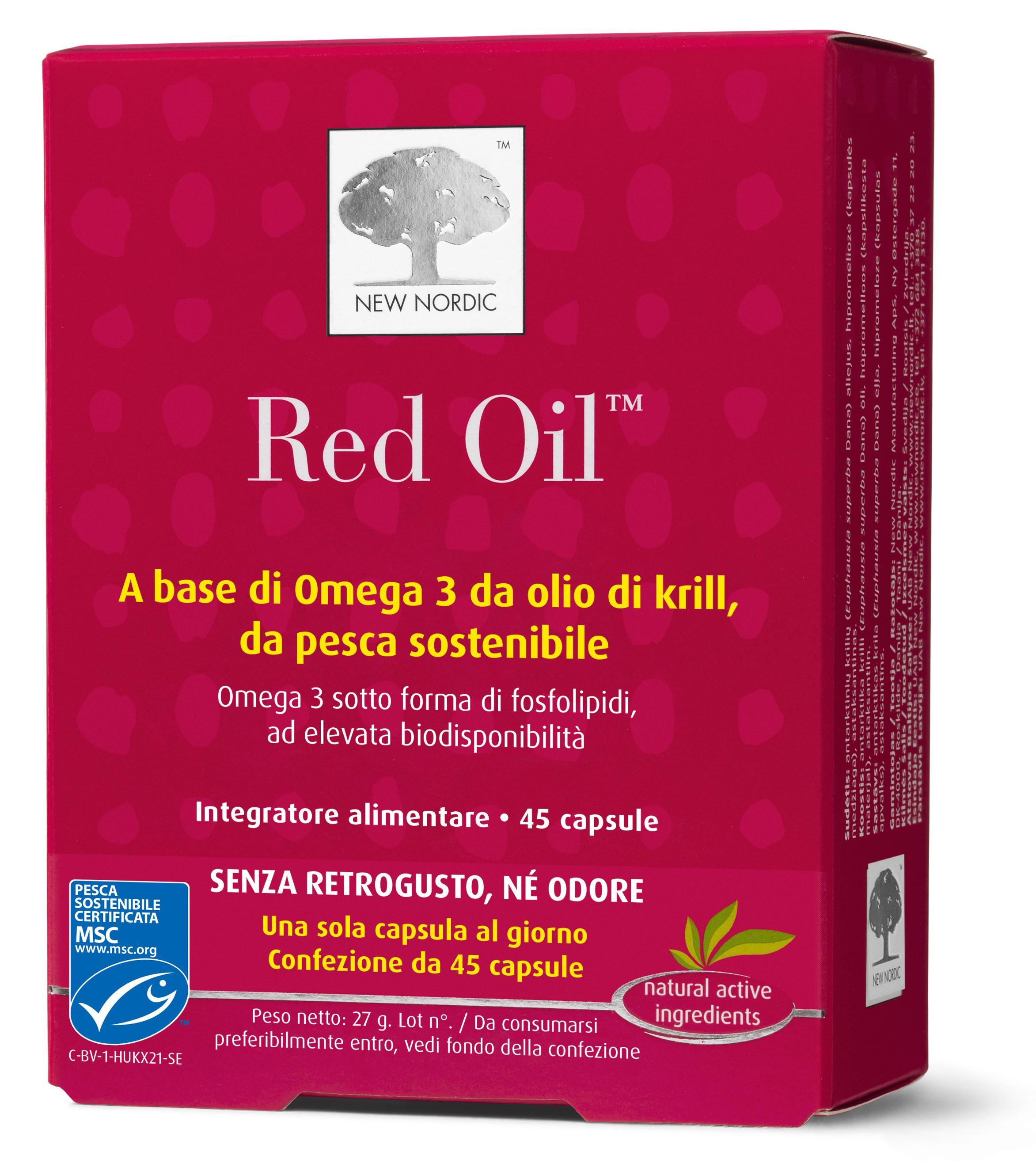 Red Oil ™ 45 / 60 capsule