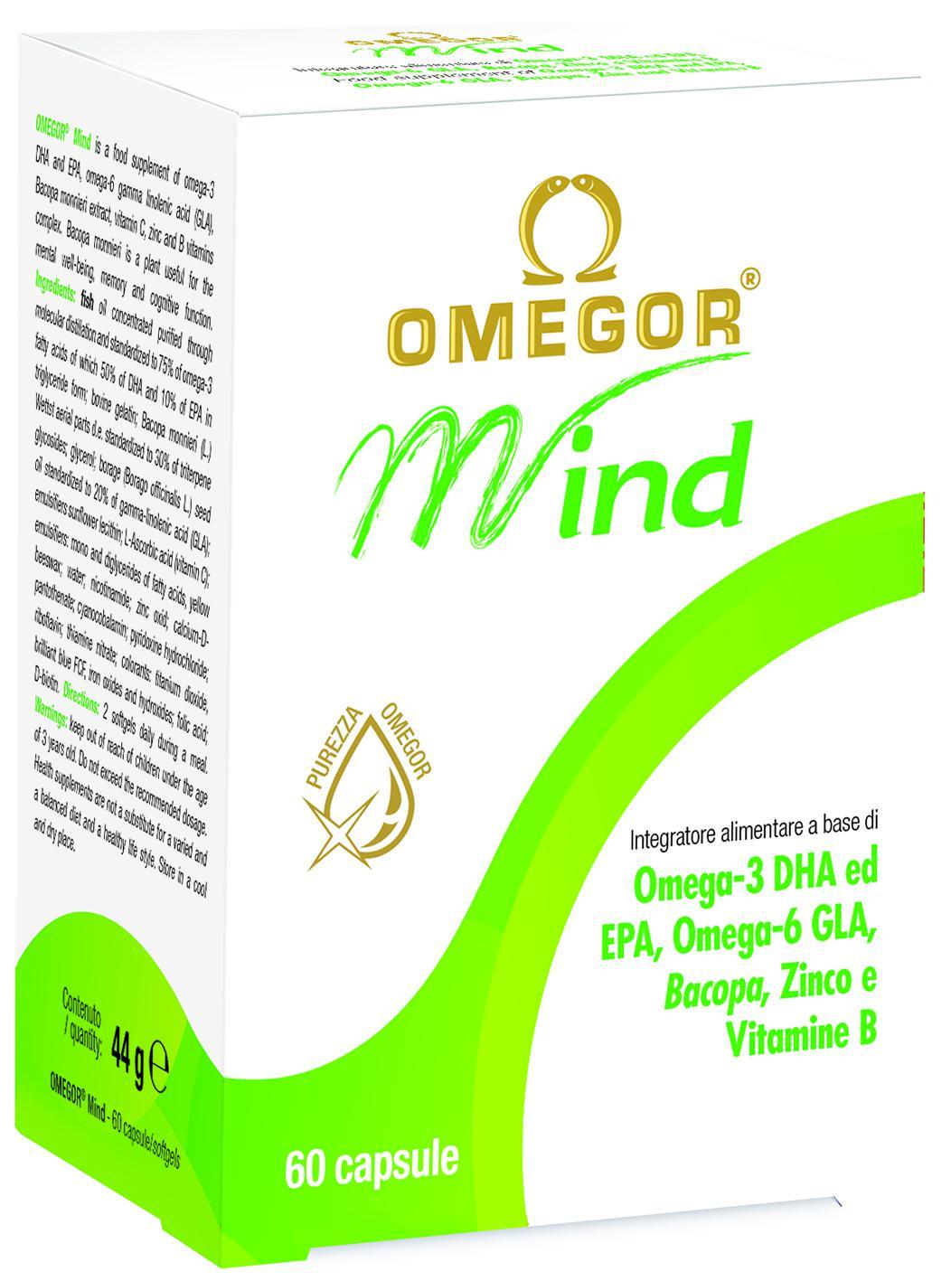 Omegor Mind • 30/60 capsule molli