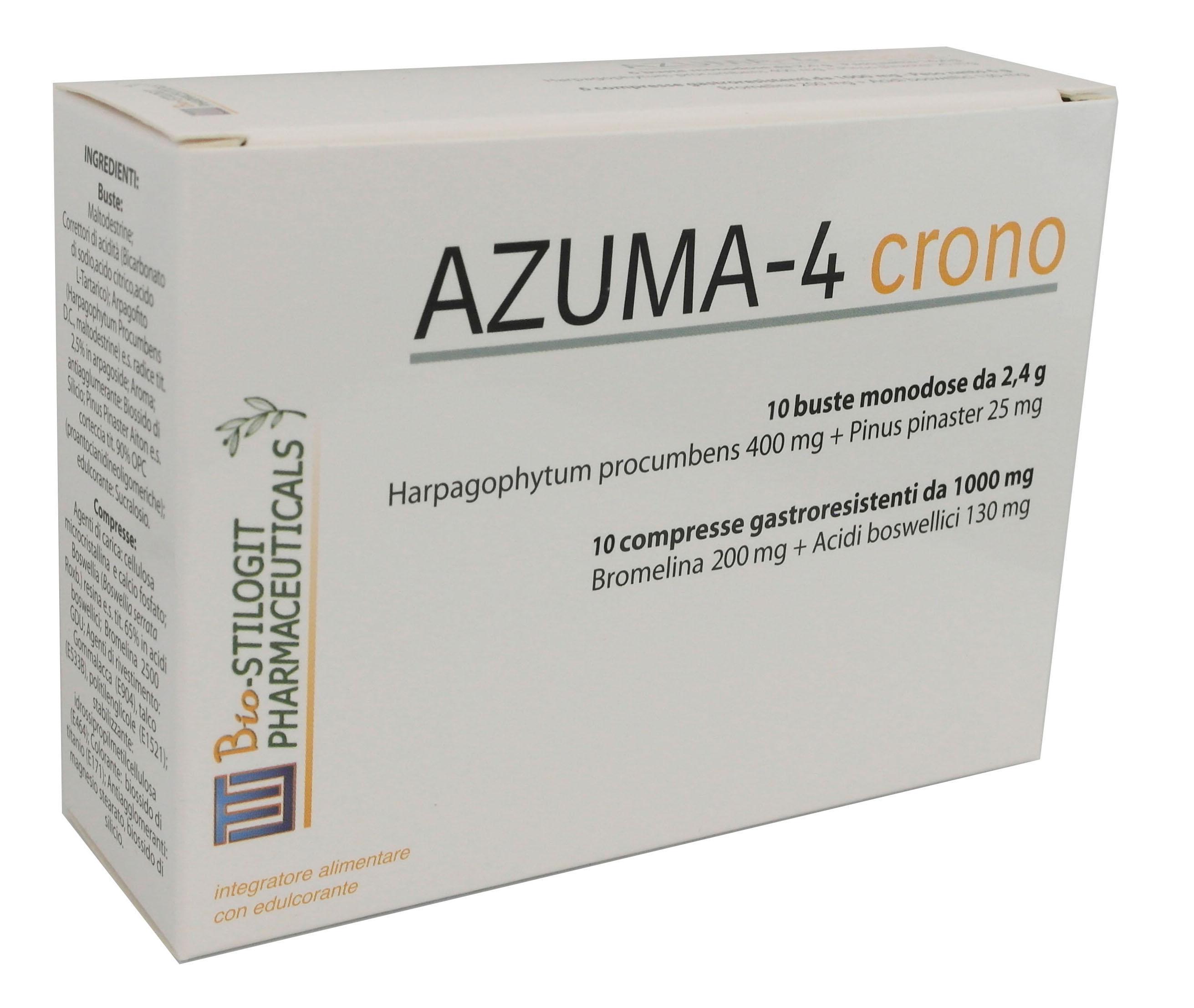 AZUMA-4 crono         -       10 cpr + 10 bustine