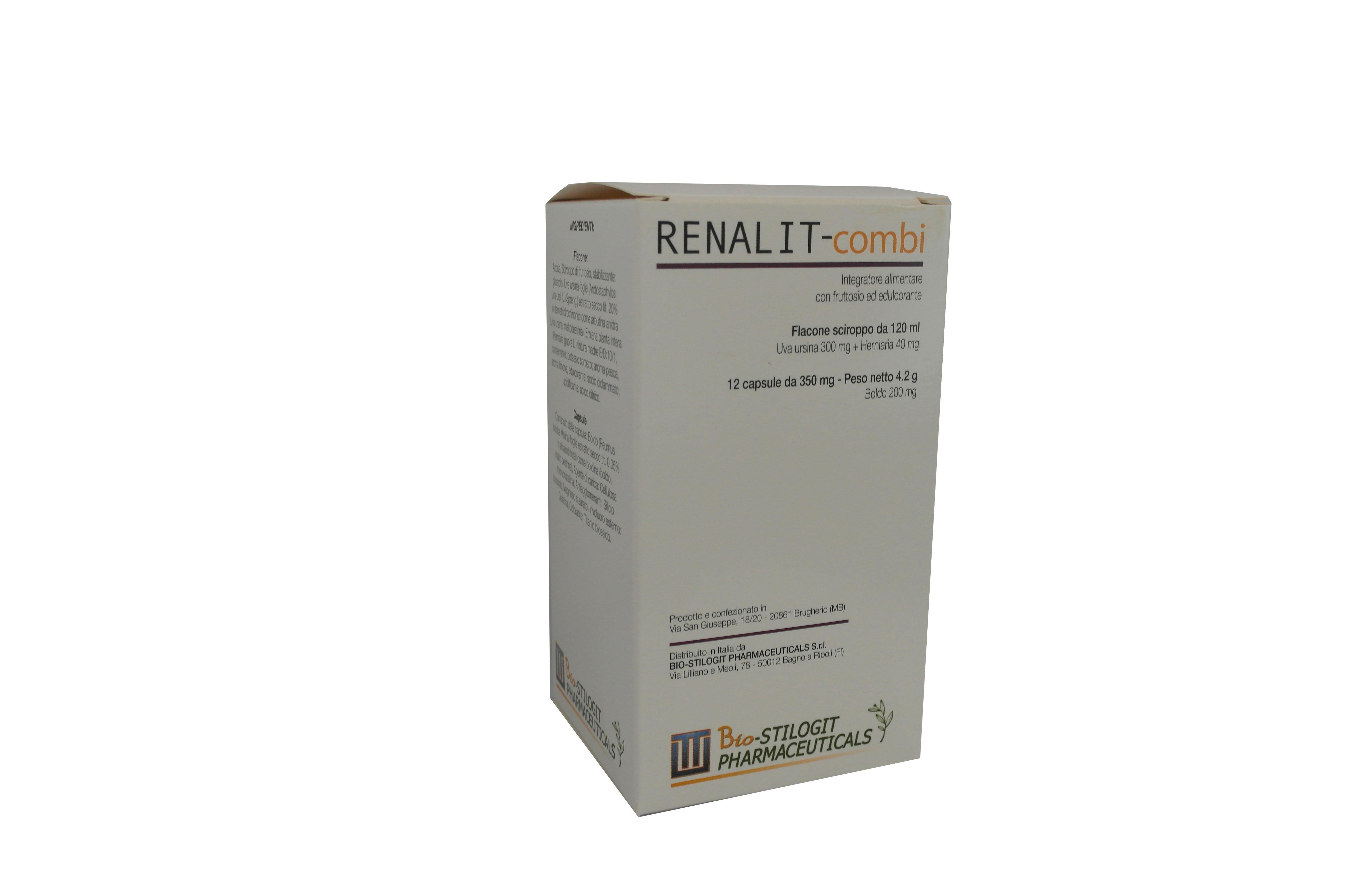 RENALIT-combi - 12 cpr + 120 ml sciroppo