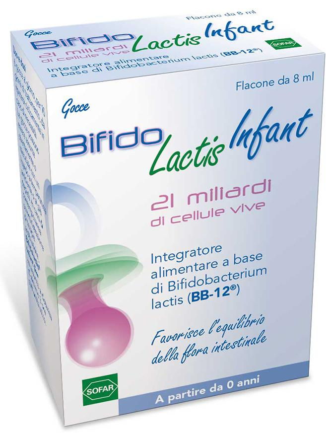 BIFIDOLACTIS INFANT 1 flacone da 8 ml con dosagocce