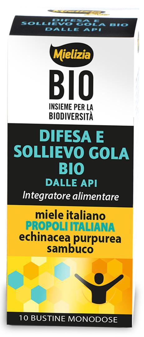 DIFESA E SOLLIEVO GOLA BIO IN 10 BUSTINE DA 10g