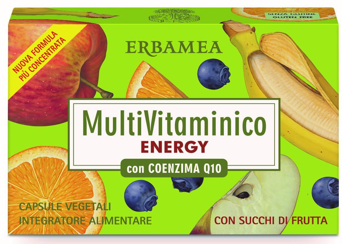 MULTIVITAMINICO ENERGY CON COENZIMA Q10