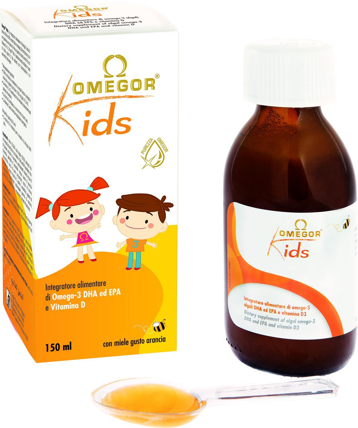 Omegor Kids • flacone da 140 ml
