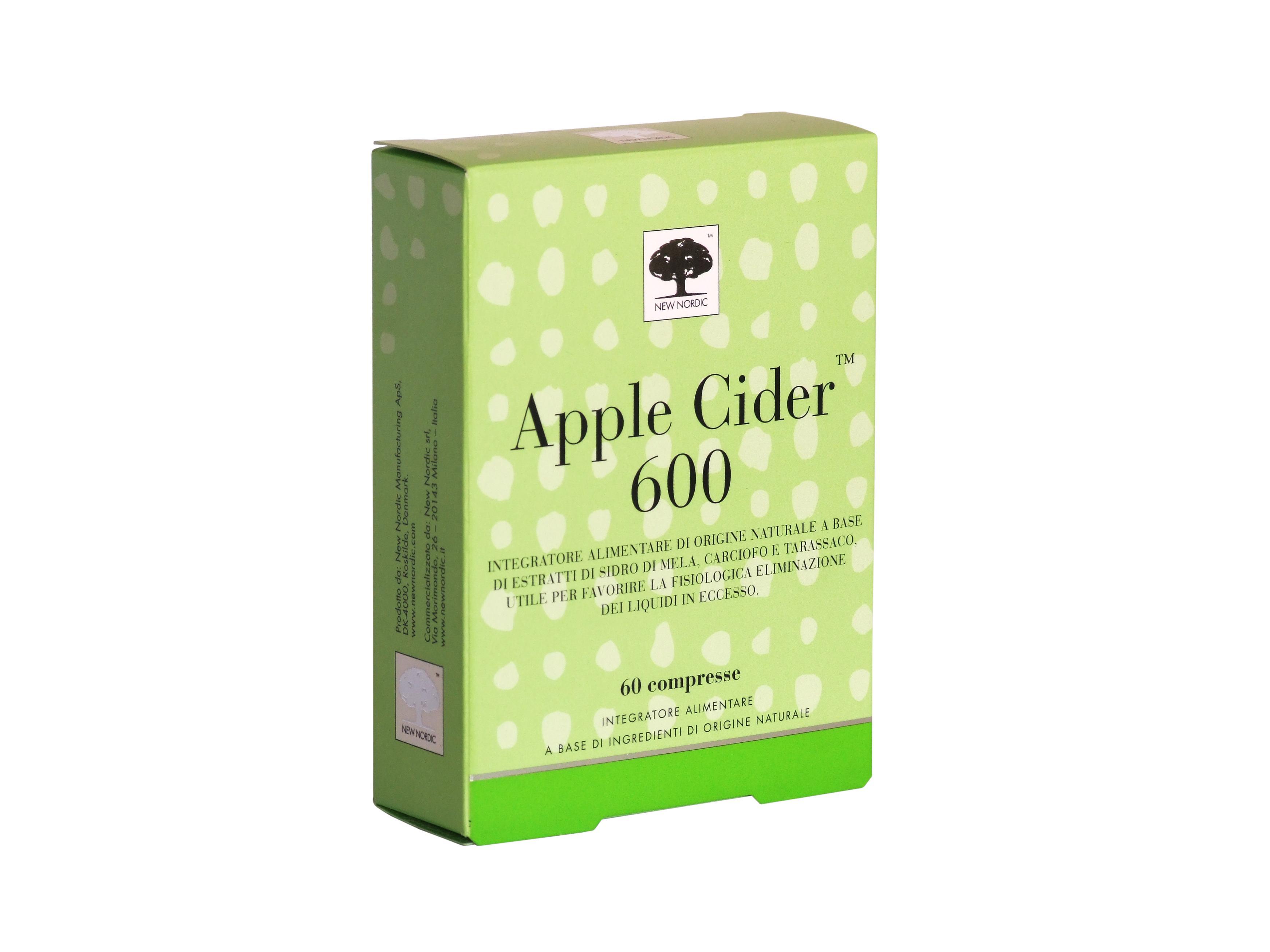APPLE CIDER 600 • 60/100 compresse