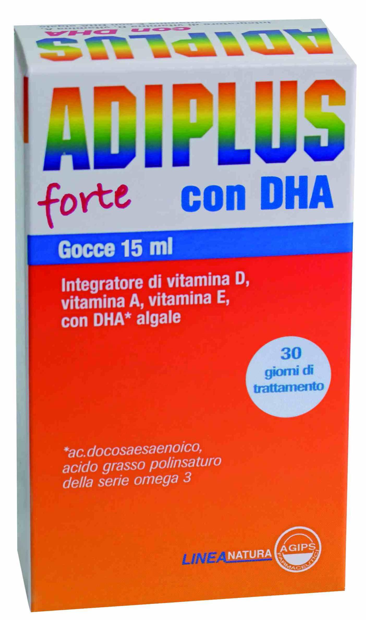 ADIPLUS forte con DHA Gocce