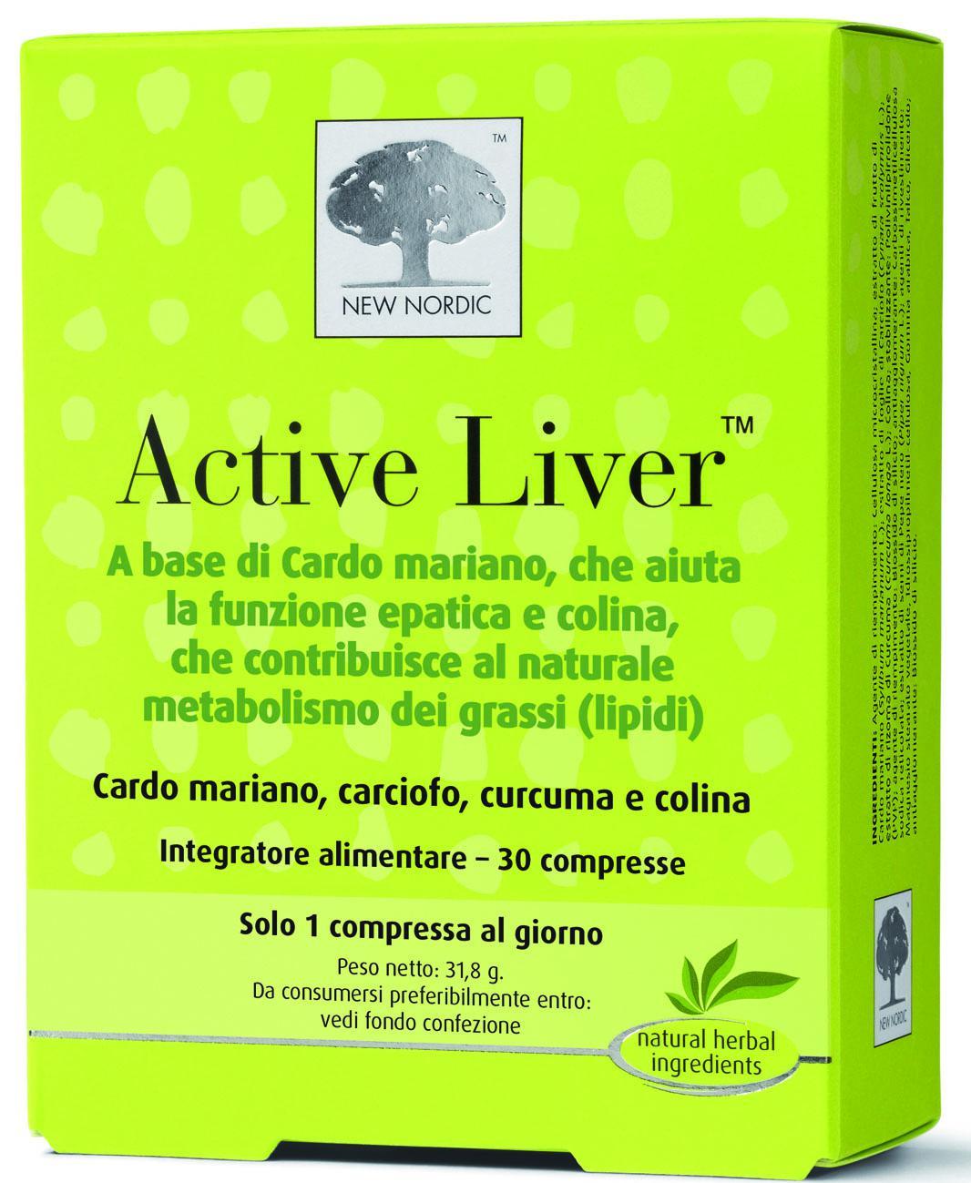 Active Liver 30 e 60 compresse