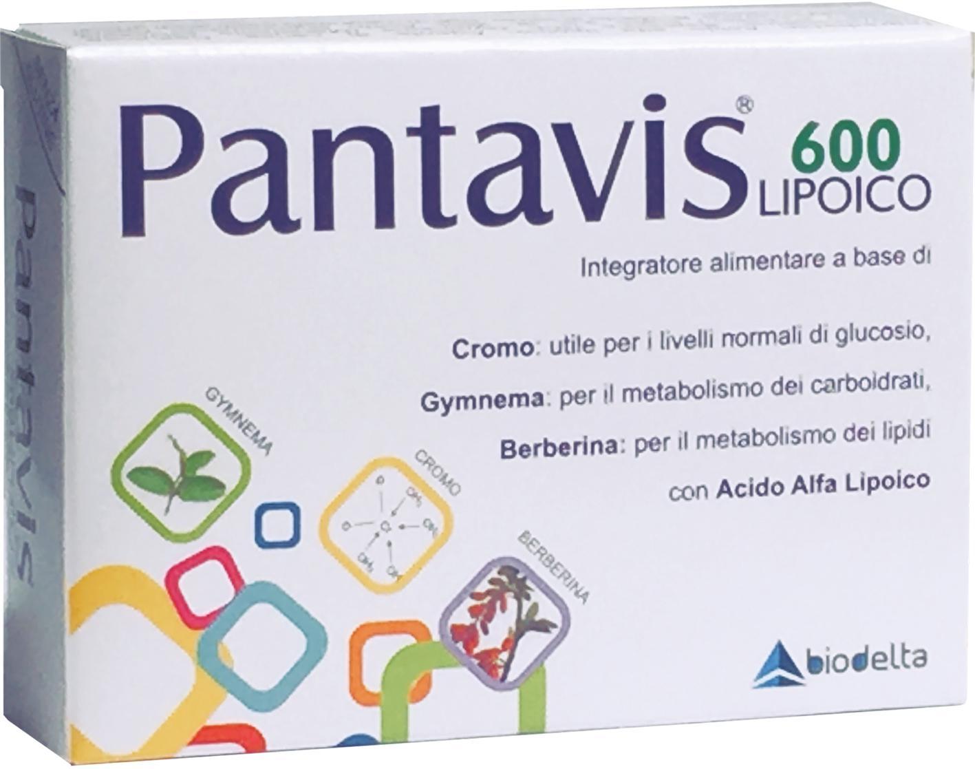 PANTAVIS® 600 lipoico