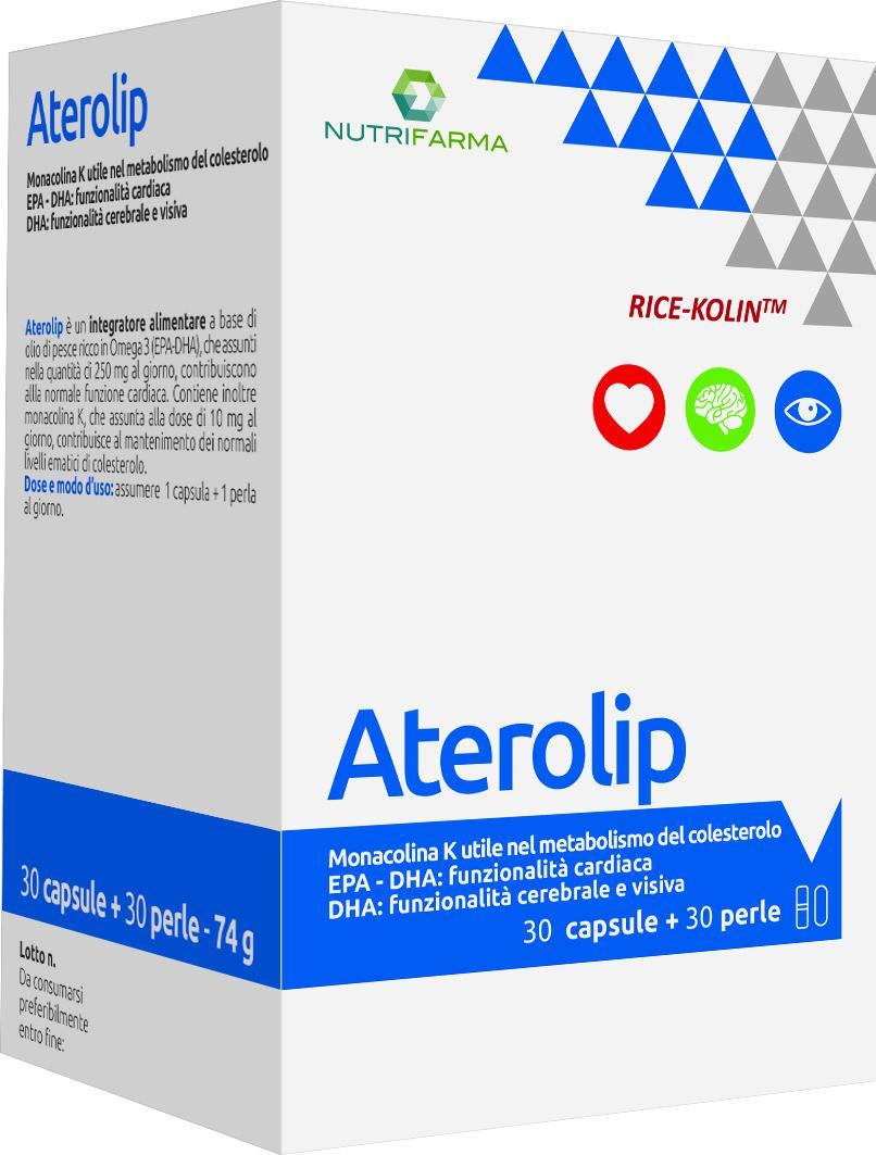 ATEROLIP 30 cps + 30 prl